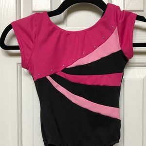 Gymnastics or dance leotard size